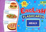 English flash cards. Meals ( Їжа ) НУШ